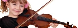Why is playing violin good for children