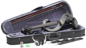Stagg EVN 4/4 Silent Violin Set with Case