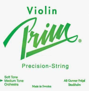 Prim 44 Violin String Set - Medium Gauge with Ball-end E