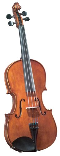 Cremona SVA-175 Premier Student Viola Outfit 15 Size, Ebony Fittings, Aging Toner, Prelude Strings, Deluxe Case