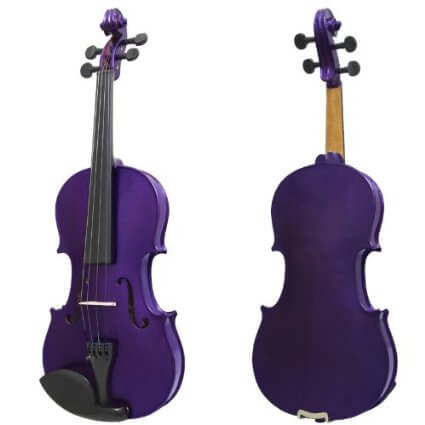 Mendini 16-Inch MA-Purple Solid Wood