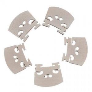 YMC Violin parts Violin-Bridge-5pc-4/4 Maple Bridge Violin Parts, 5 Piece