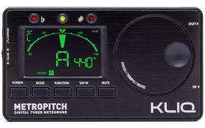 KLIQ MetroPitch - Metronome Tuner - with Guitar
