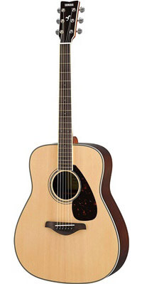 Yamaha FG830 Solid Top Acoustic Guitar