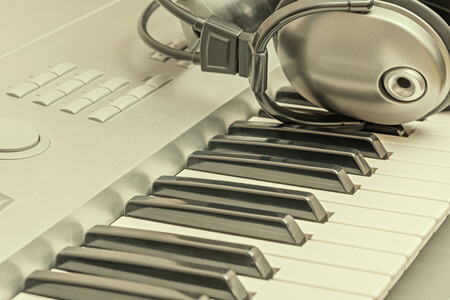 headphones for your piano