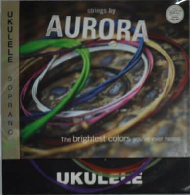 Aquila Colored Soprano Ukulele Strings