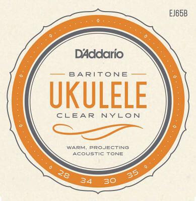 D'Addario EJ65B Pro-Arté Custom Extruded Nylon Ukulele Strings