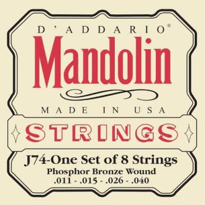 D'Addario J74 Mandolin Strings