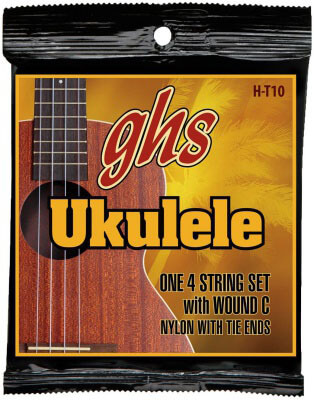GHS Strings H-T10 Tenor Ukulele Strings