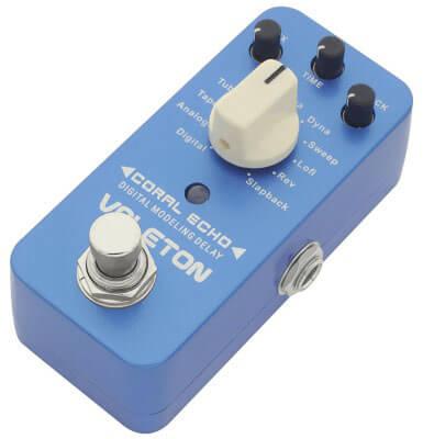 Valeton Coral Echo Digital Delay Guitar Effect Pedal