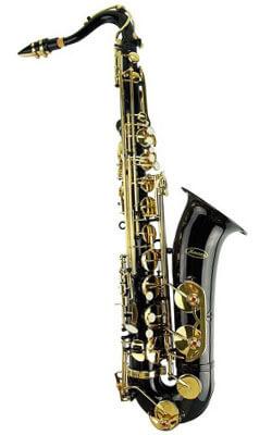 Merano Black/Gold Tenor Sax