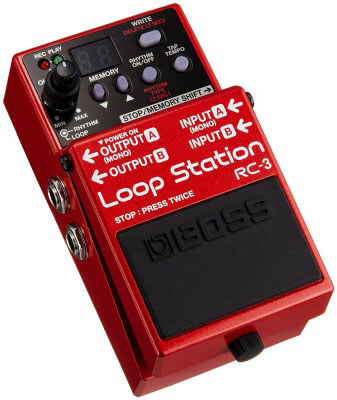 Boss RC-3 - very good loop station for traveling musicians