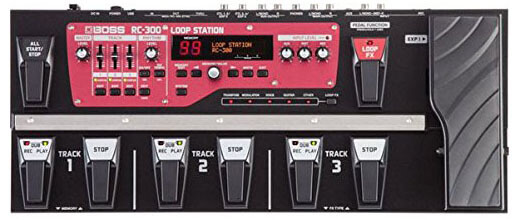 Boss RC-300 - the best looper pedal for live performance