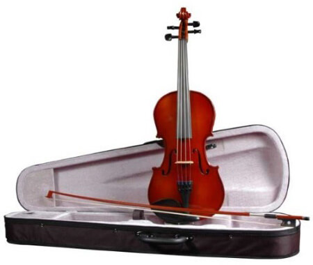 Klaus Mueller Allegro Violin Outfit