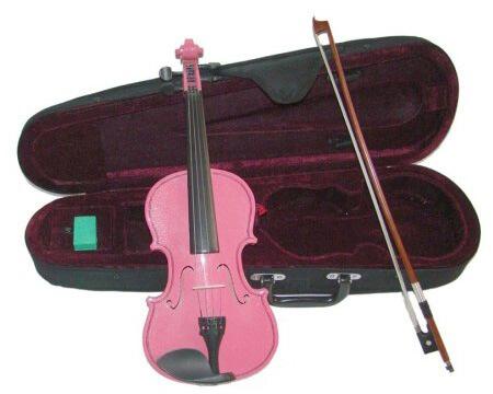Merano Pink Handmade Violin