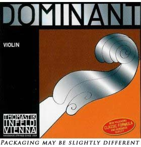 Thomastik Dominant 34 Violin String Set - Medium Gauge - AluminumSteel Ball-End E