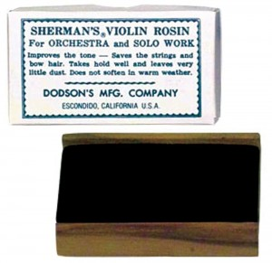 Sherman Violin Rosin Dark