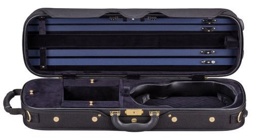 American Case Continental Violin Case Midnight Blue
