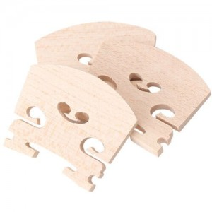 Generic 4/4 Full Size Violin Fiddle Bridge Maple Pack of 3