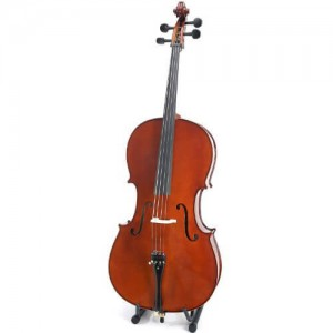 Cecilio CCO-500 Solid Wood Cello