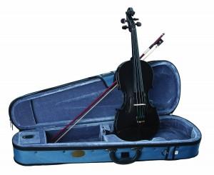 Stentor 1401BK-4/4 Harlequin Series Black Violin Outfit