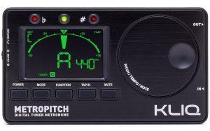 KLIQ MetroPitch - Metronome Tuner - with Guitar
