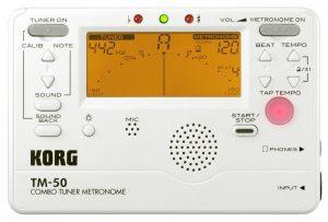 Korg TM50PW Instrument Tuner