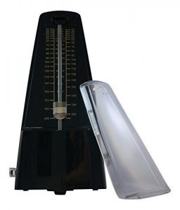 Mechanical Metronome in Black