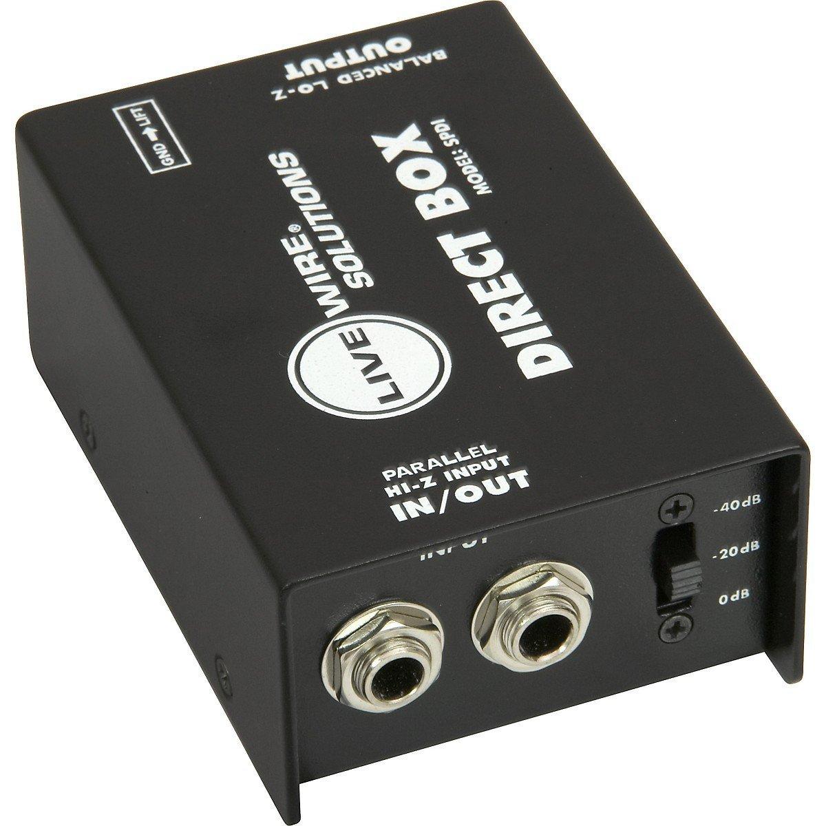 LivewireSPDI Passive Direct Box
