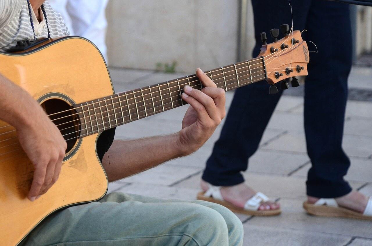 guitar practicing