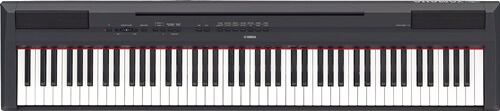 Yamaha P-115B 88-Key Graded Hammer Standard Digital Piano