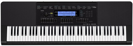 Casio WK-245 Touch Sensitive Keyboard