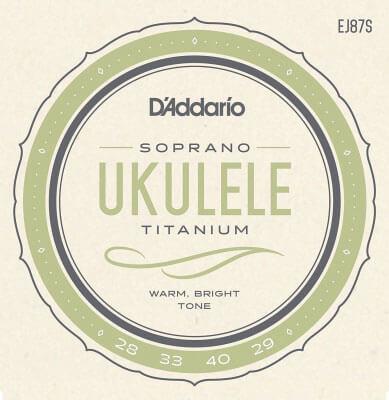 D'Addario EJ87S Titanium Ukulele Strings