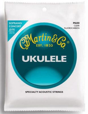 Martin M600 Standard Concert Ukulele Strings