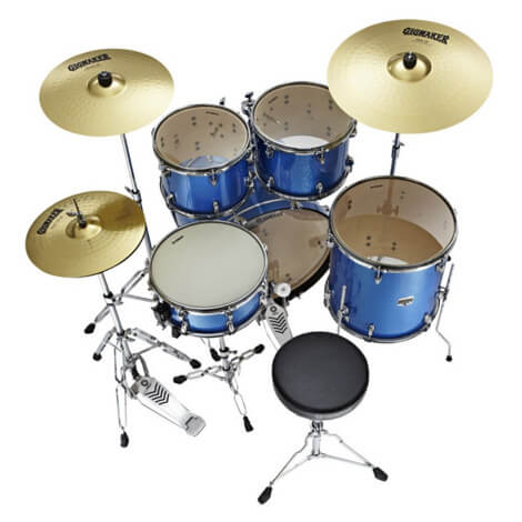drum setup advised for beginners