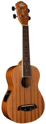 Oscar Schmidt OU2E Mahogany Concert Acoustic-Electric Ukulele