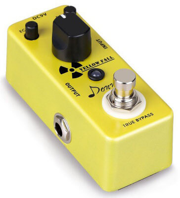 Donner Yellow Fall Vintage analog delay pedal