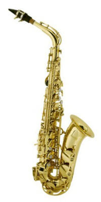 Mendini by Cecilio MAS Beginner Alto Saxophone Kit
