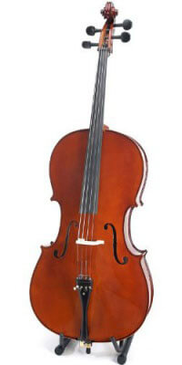 Cecilio CCO-500 Handmade Solid Wood Cello