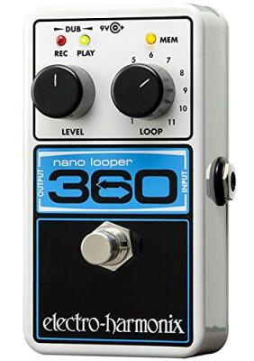 Electro-Harmonix 360 Nano Looper - good practice pedal