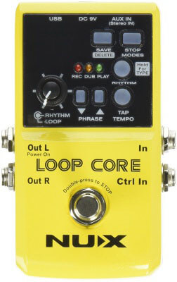 Nux Loop Core - amazing looper pedal for live use