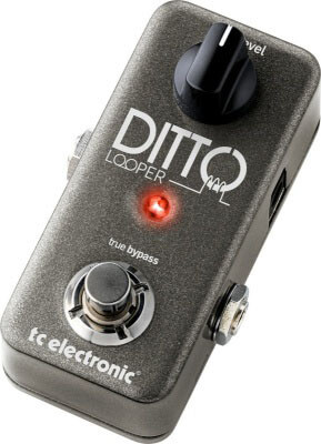 TC Electronics Ditto - great budget looper pedal