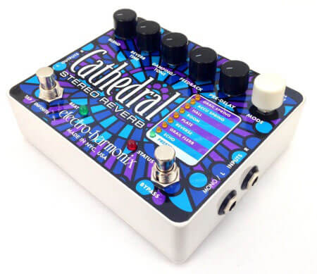 Electro-Harmonix Cathedral Stereo reverb pedal review