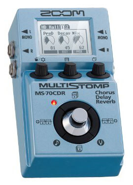 Zoom MS-70CDR MultiStomp pedal