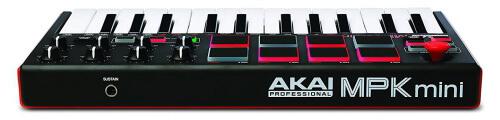 Akai MPK Mini MKII - great 25 key MIDI keyboard