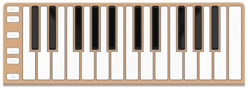 CME Xkey 25-Key MIDI Portable Mobile Keyboard