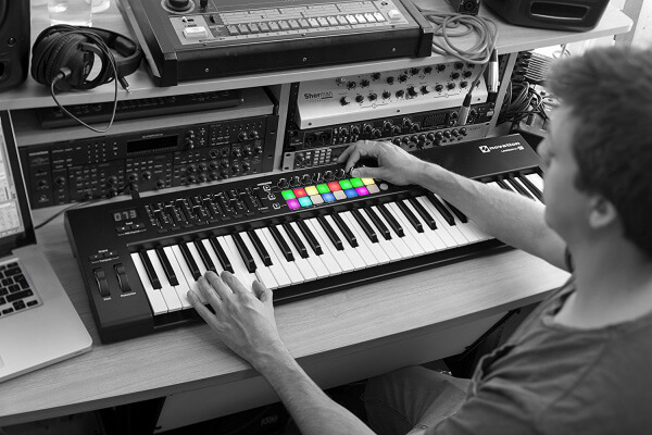 Launchkey 61 - very good midi keyboard controller for beat making