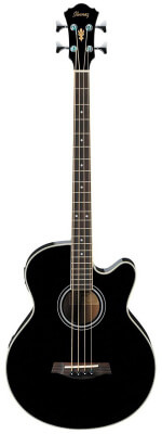 Ibanez AEB5EBK Acoustic Electric Bass Guitar