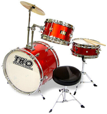 TKO 3-Piece Junior Drum Set