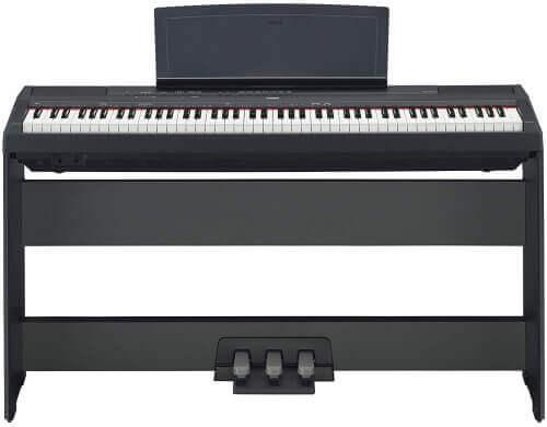 Yamaha P-115 Digital Piano Deluxe Bundle